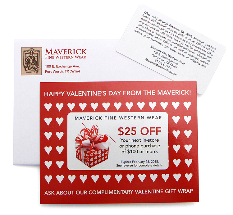 Maverick Discount Direct Mail